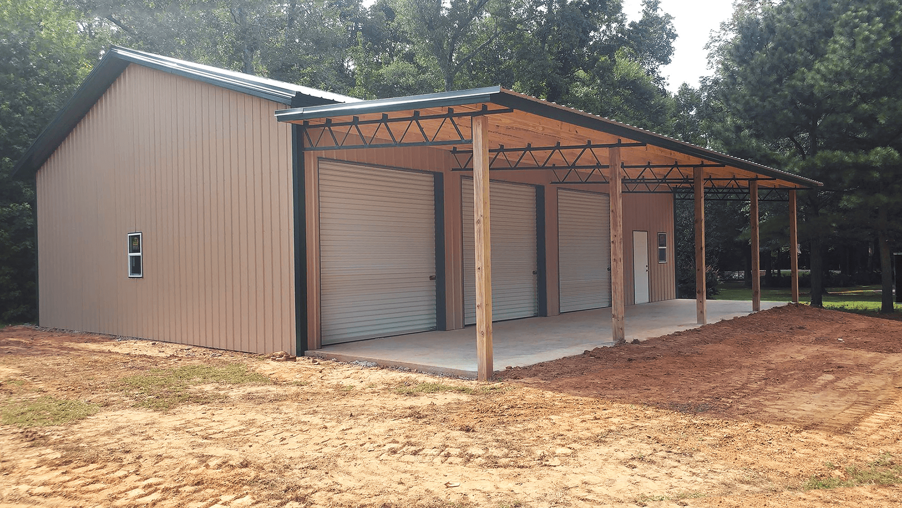 metal materials for a pole barn