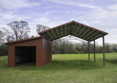 Residential Building Photo: Carport and Storage Building